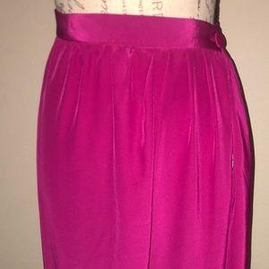 Pink wrap skirt 100 % silk 💕💕💕